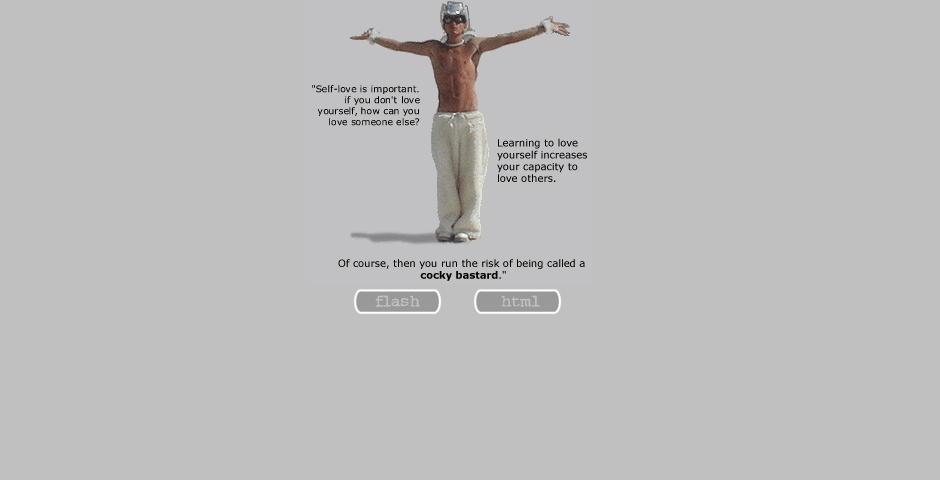 2000 Webby Winner - Cocky Bastard