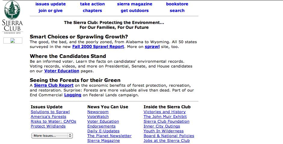 Nominee - Sierra Club