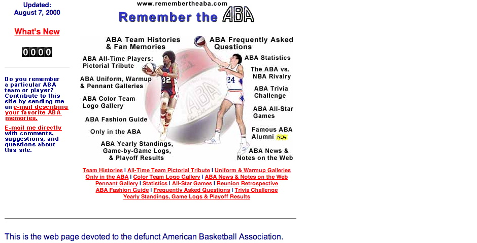 Nominee - Remember the ABA