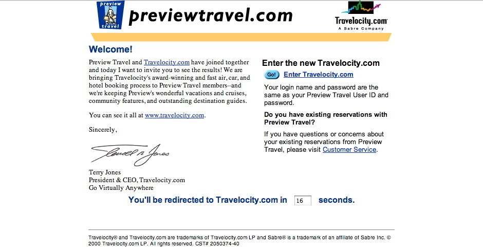 Webby Award Nominee - Preview Travel