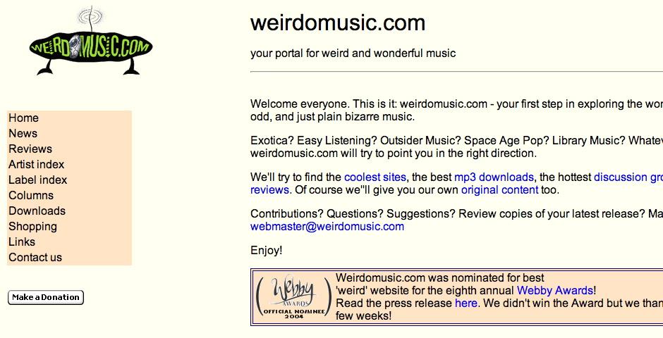 Nominee - weirdomusic.com