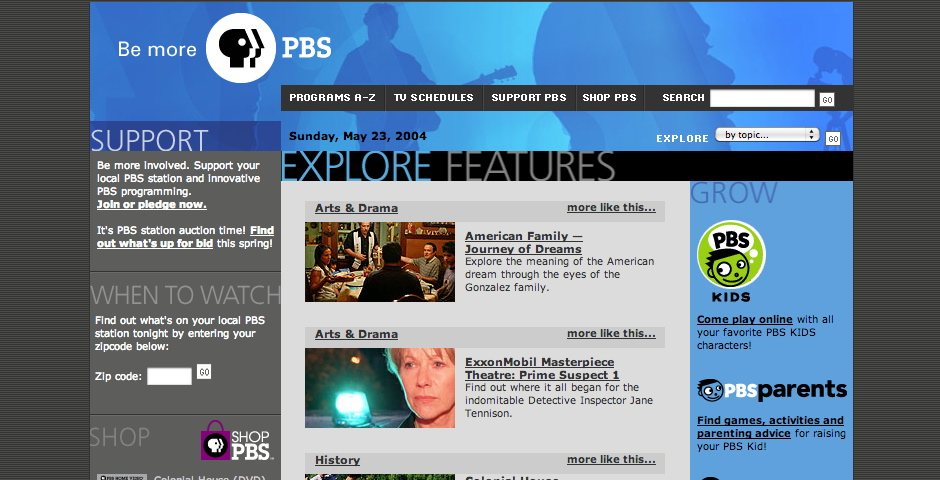 Webby Award Winner - PBS.org