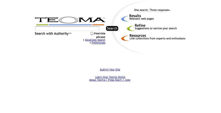 Nominee - teoma.com