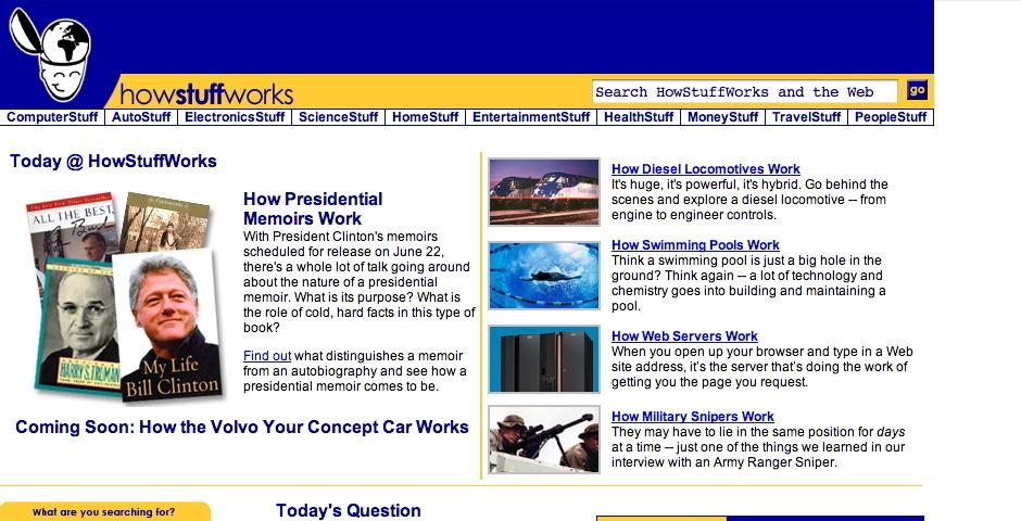 2004 Webby Winner - How Stuff Works