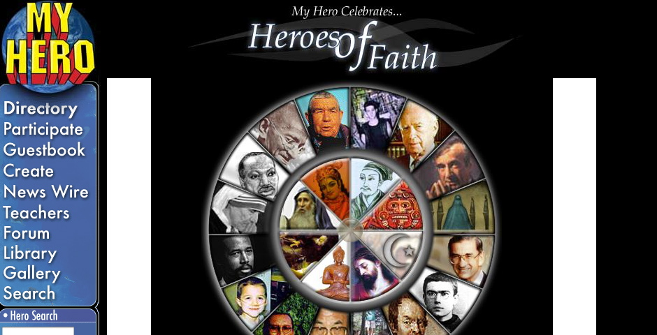 Nominee - My Hero: Heroes of Faith