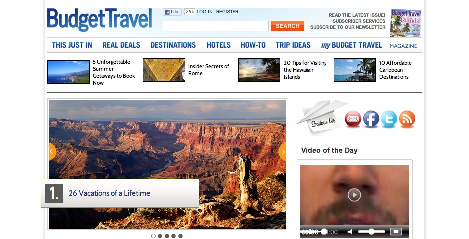 Nominee - BudgetTravel.com
