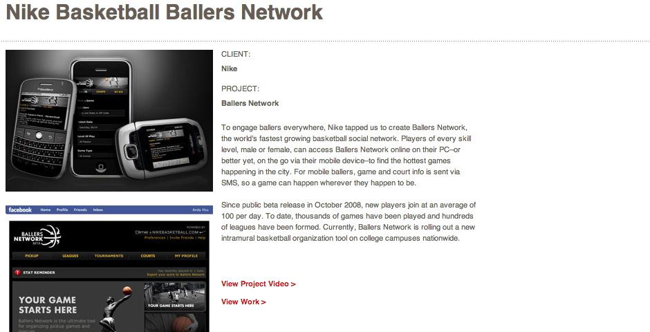 Honoree - Nike Basketball Ballers Network