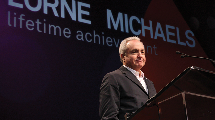 Webby Award Winner - Lorne Michaels
