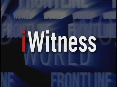 2009 Webby Winner - FRONTLINE/World iWitness