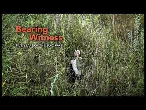 Webby Award Nominee - Bearing Witness: Five Years of the Iraq War