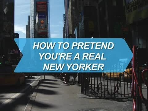 Webby Award Nominee - How to Pretend You\'re a Real New Yorker