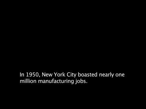 Webby Award Nominee - Uncertain Industry: The Decline of Manufacturing in New York City