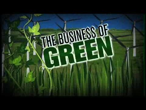 Webby Award Nominee - The Business of Green