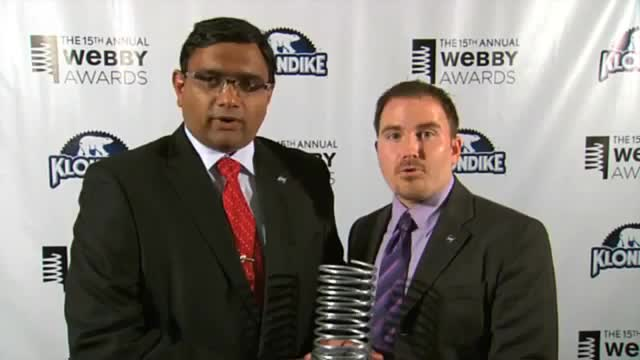 Webby Award Winner - NASA Global Climate Change