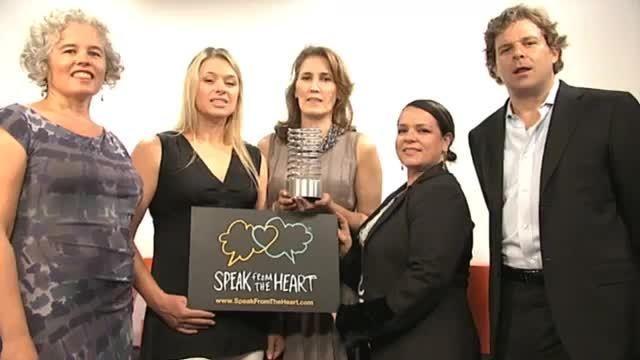 2011 Webby Winner - Speak From The Heart