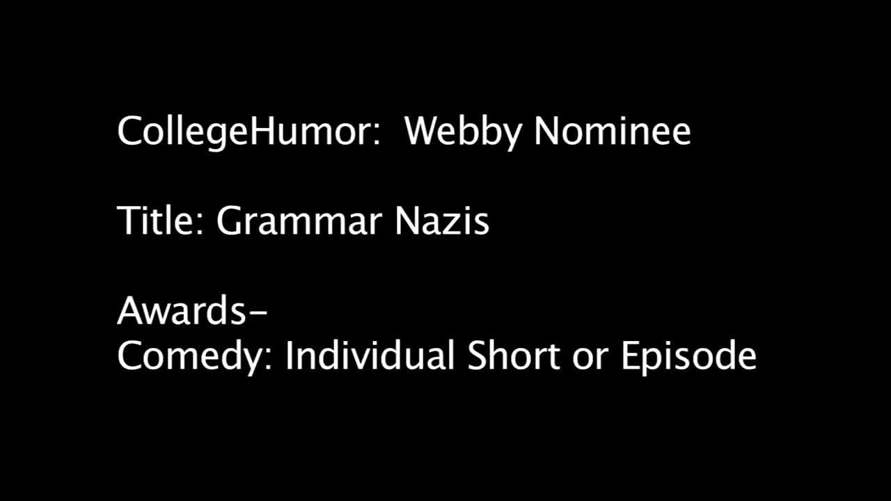Nominee - Grammar Nazis