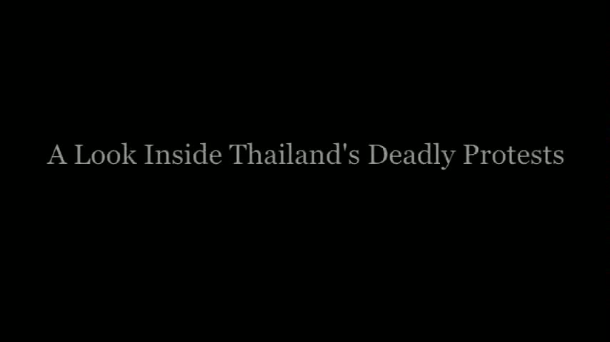 Nominee - Thailand's Deadly Protests