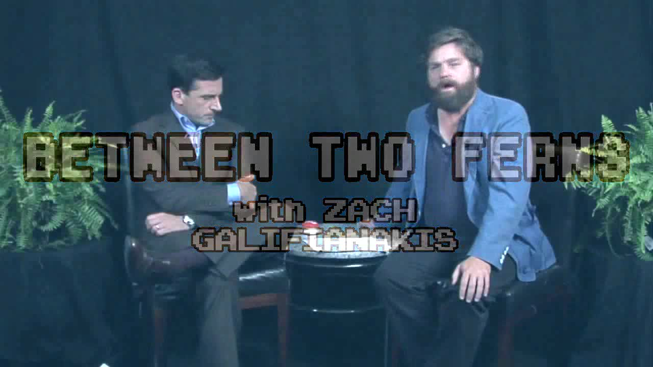 Webby Award Winner - Between Two Ferns w Zach Galifianakis: Steve Carell
