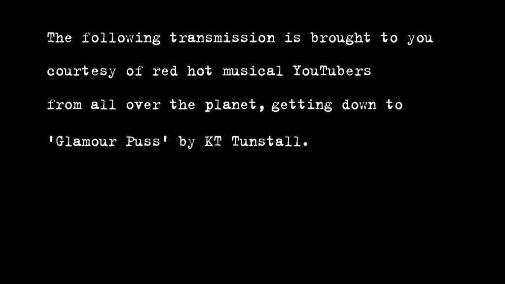 Webby Award Nominee - KT Tunstall: Glamour Puss Music Video