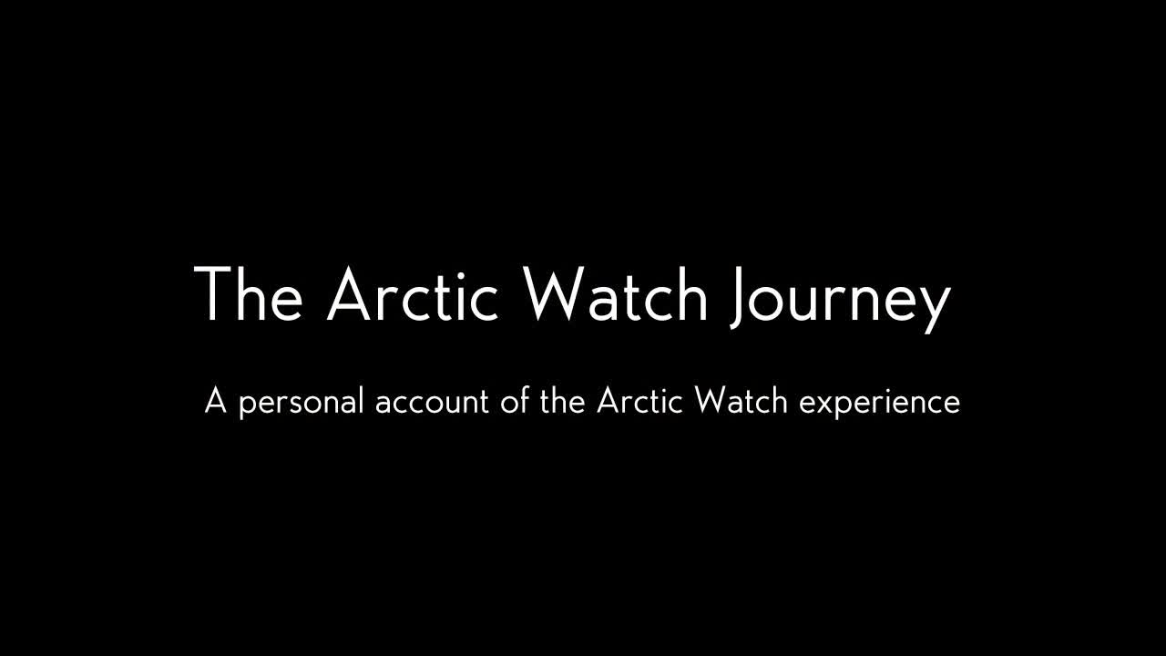 Nominee - The Arctic Watch Journey