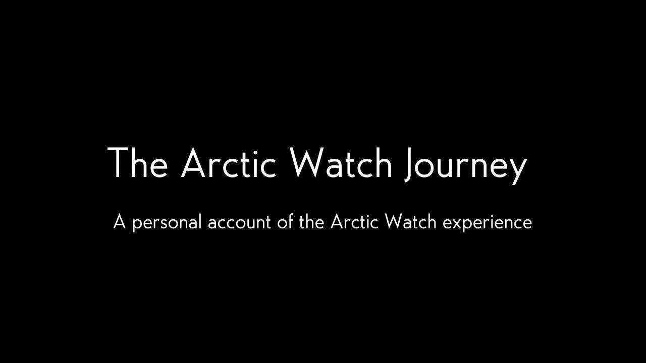 Webby Award Nominee - The Arctic Watch Journey