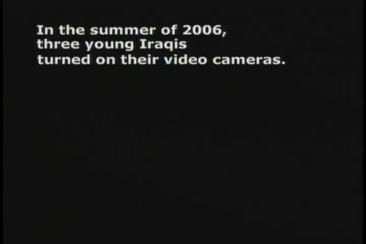 2008 Webby Winner - Hometown Baghdad