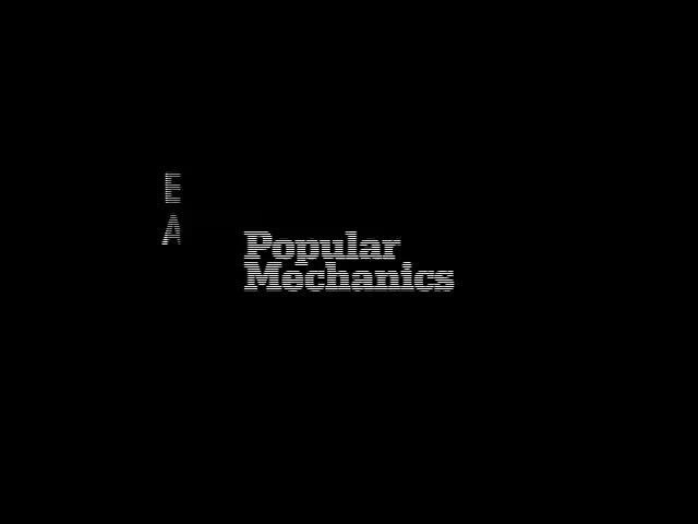 Webby Award Nominee - Popular Mechanics Breakthrough