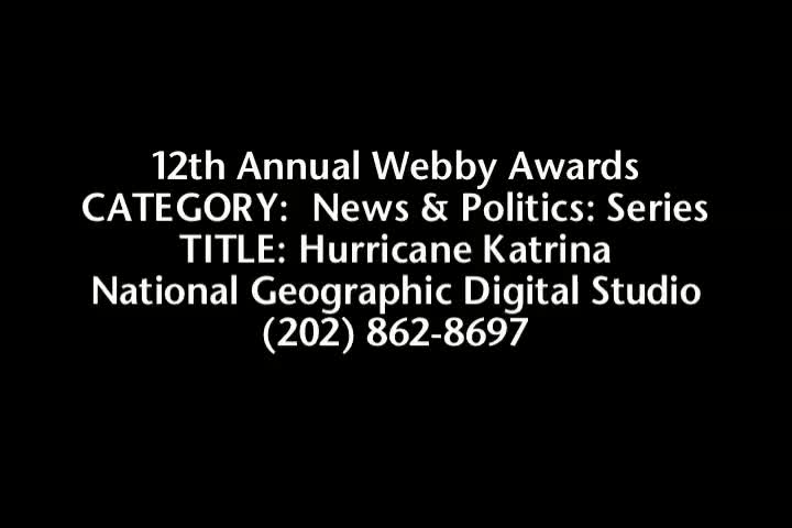Nominee - Hurricane Katrina