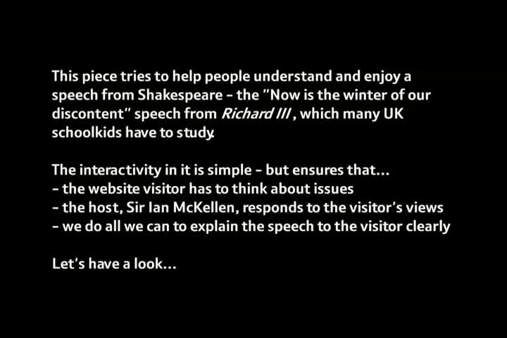 Nominee - A Conversation with Sir Ian