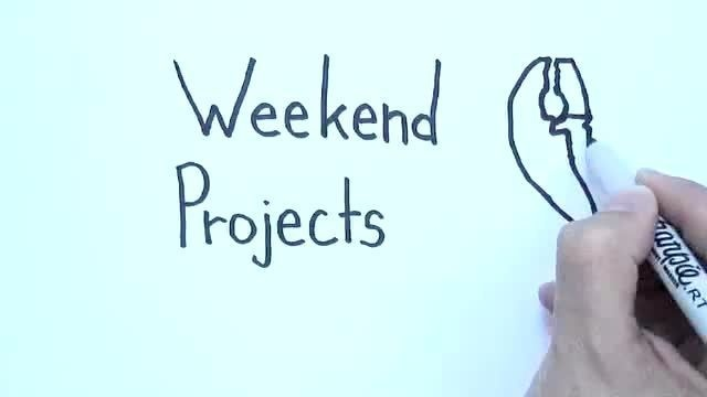 Webby Award Nominee - Make: Weekend Projects