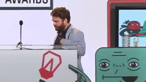 Webby Award Winner - Zach Galifianakis