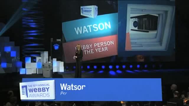 Webby Award Winner - Watson