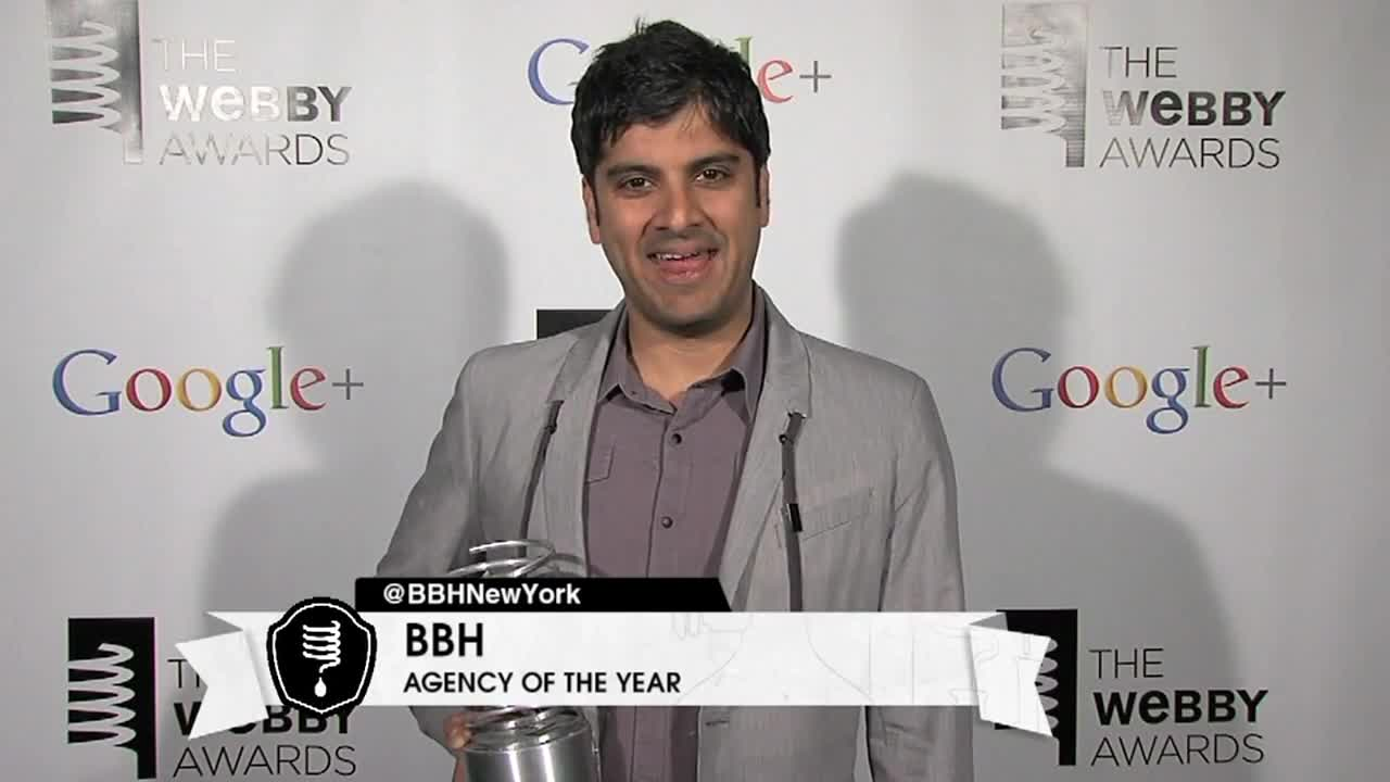 Webby Award Winner - BBH