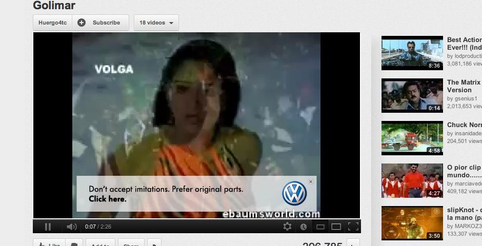 Webby Award Winner - The Original Click