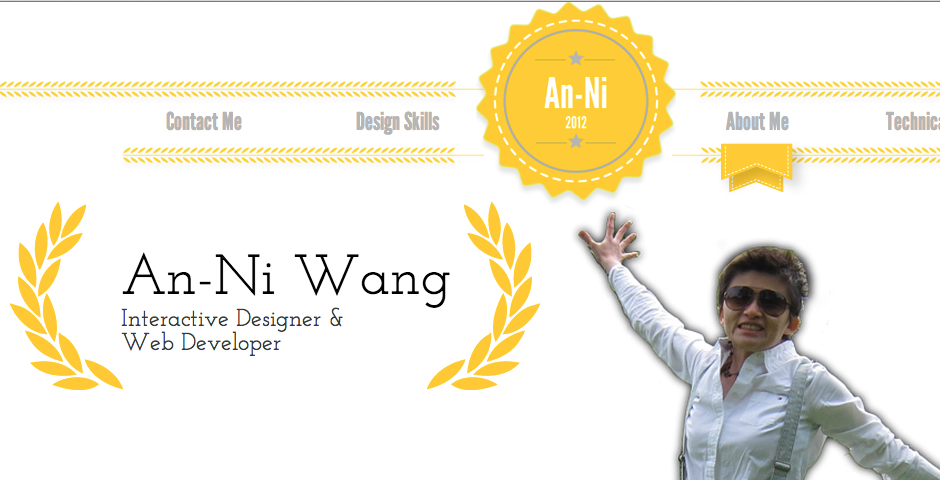 Nominee - An-Ni Wang's Interactive Resume
