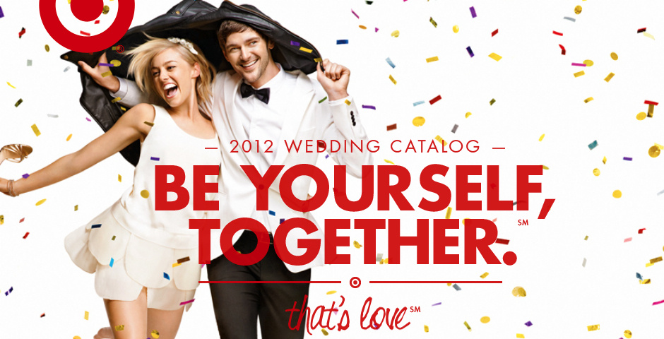 Webby Award Nominee - Target Wedding Catalogs