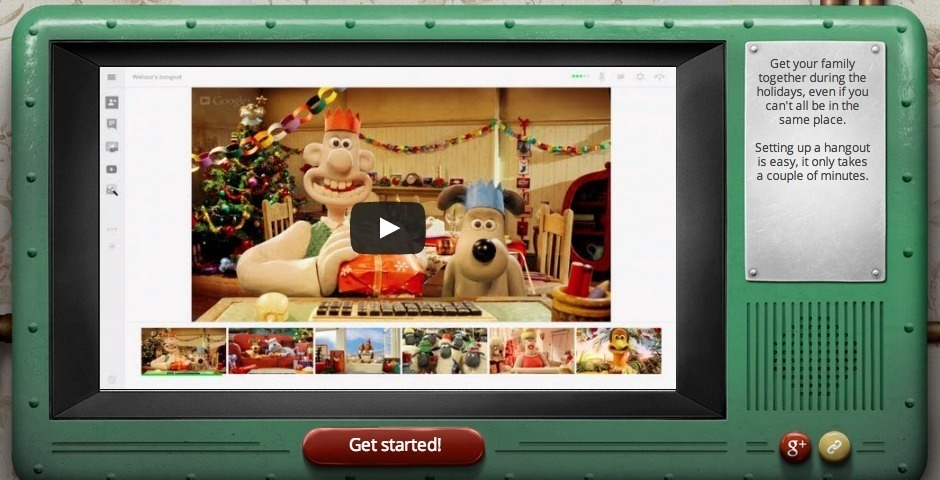 2013 Webby Winner - Google+ Hangouts Christmas