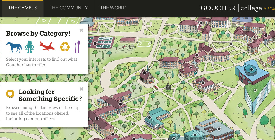 Nominee - Goucher College Virtual Tour