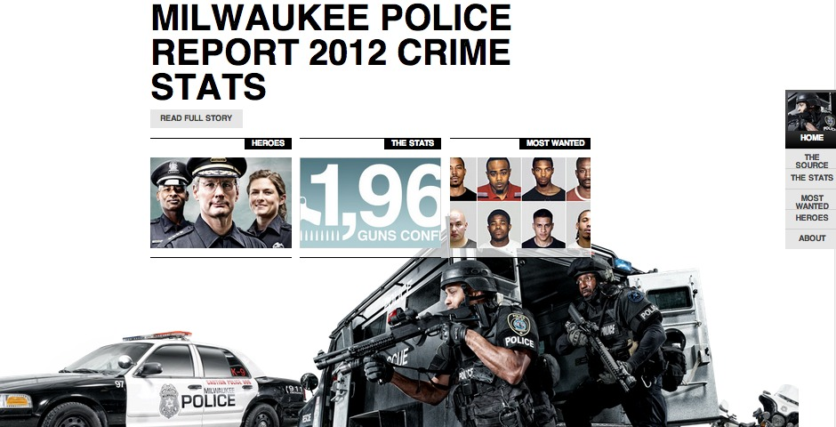 Webby Award Winner - Milwaukee Police News