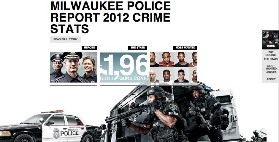 2013 Webby Winner - Milwaukee Police News