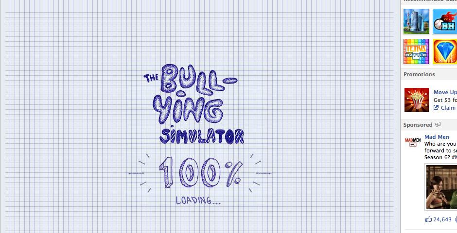 2013 Webby Winner - The Bullying Simulator