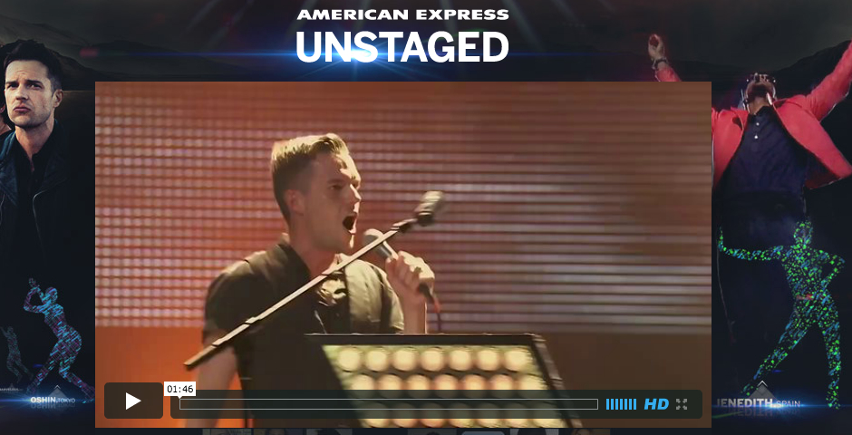 People's Voice / Webby Award Winner - American Express Unstaged