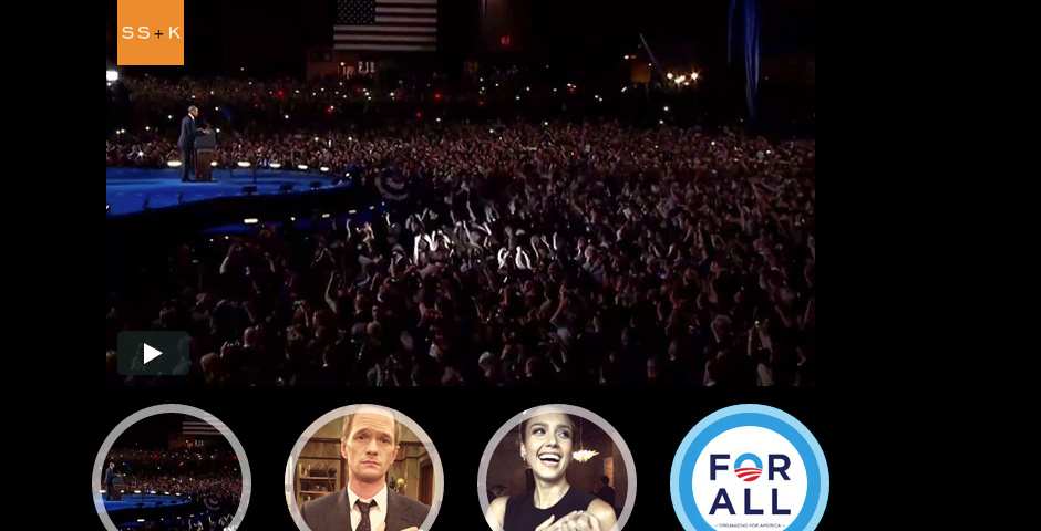 Webby Award Nominee - Obama for America - For All Campaign