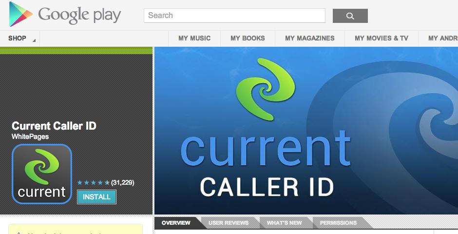 Nominee - Current Caller ID