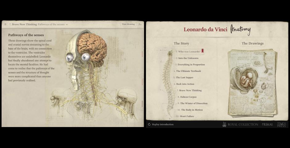 Webby Award Winner - Leonardo da Vinci: Anatomy