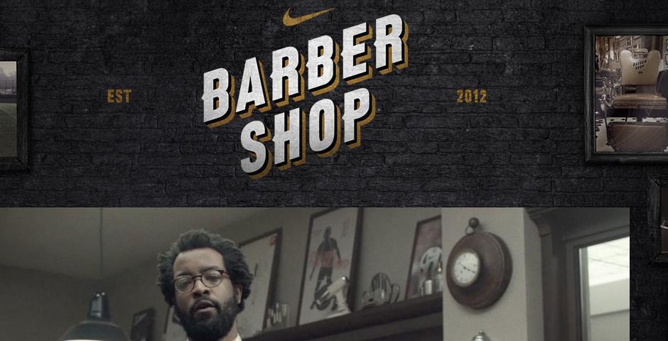 Webby Award Nominee - Nike Barbershop