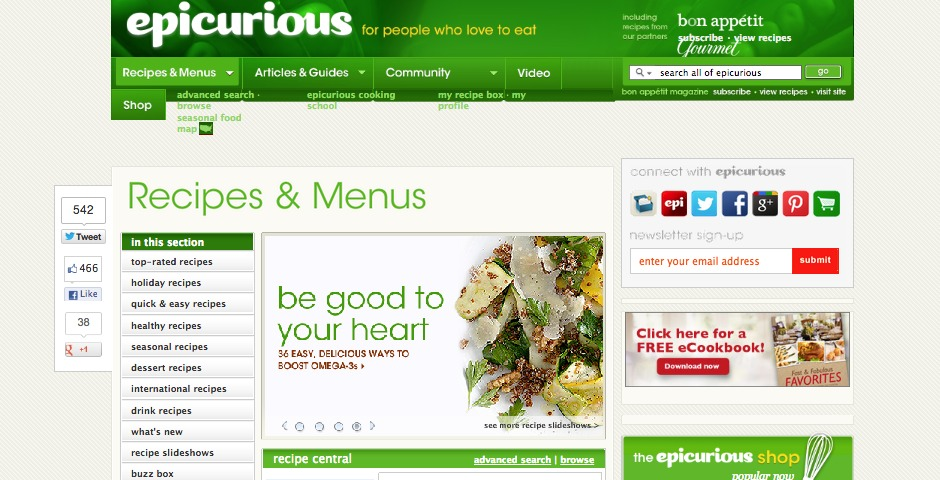 People's Voice - Epicurious.com