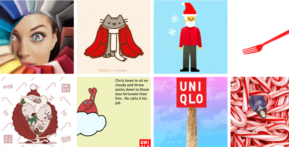 Webby Award Winner - UNIQLO GIF Box