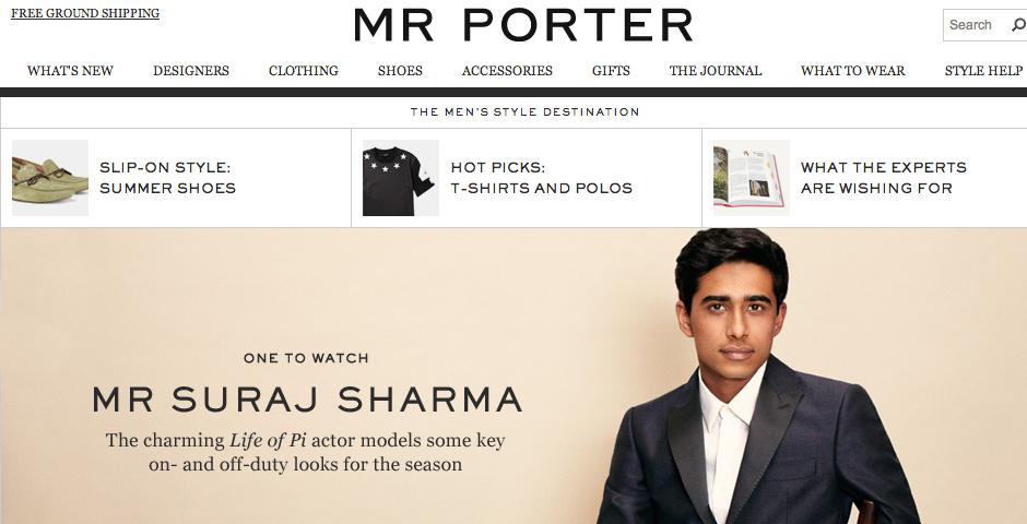 Nominee - MR PORTER.COM