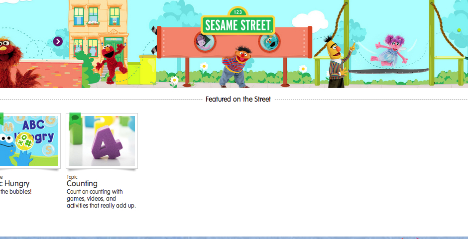 Nominee - Sesame Street Mobile